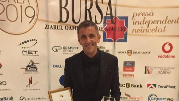 Kanal D a primit Premiul de excelenta pentru performanta financiara, la Gala Bursa
