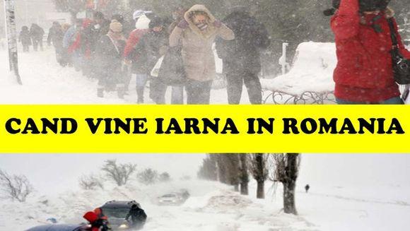 E COD GALBEN! Iarna isi intra in drepturi in toata Romania!