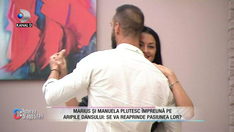 Manuela și Marius dansând