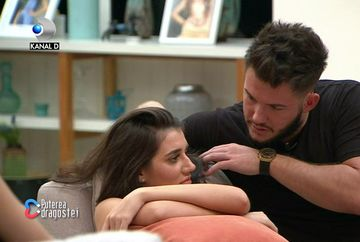 """Ricardo și Deea, noul cuplu de la """"Puterea dragostei""""! Imagini tandre cu cei doi!"""