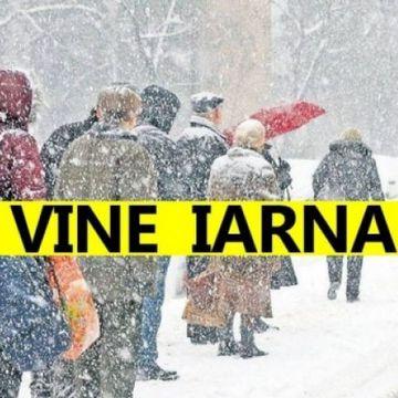 Prognoza meteo: vineri, 22 noiembrie 2019. Iarna isi intra in drepturi. Cum e vremea la Bucuresti si in regiunile din tara