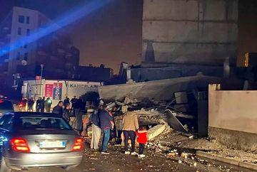 Un cutremur de proportii a lovit Albania. Zeci de raniti si cel putin patru morti