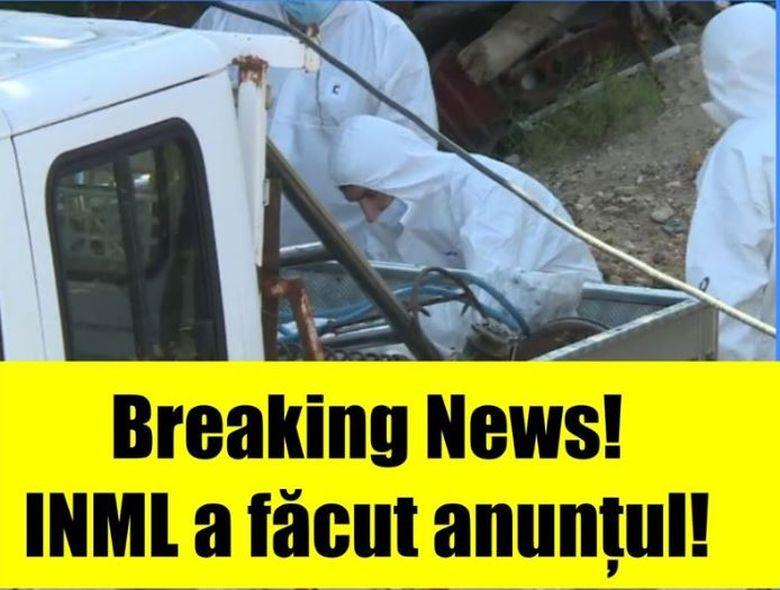 BREAKING NEWS! INML a anunțat ale cui sunt oasele găsite pe câmp, la doar 30 km de Caracal