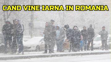 ANM a facut anuntul: cand vine iarna in Romania! Vor fi zapezi mari si temperaturi de -20 de grade