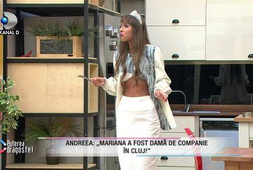 """Andreea de la """"Puterea dragostei"""" a detonat bomba: """"Mariana a fost damă de companie""""! A spus și despre ea dacă a practicat această meserie!"""