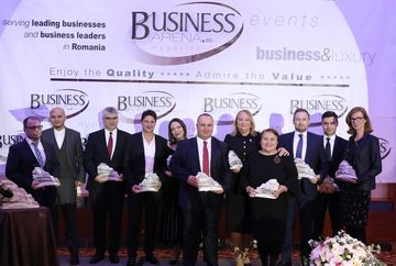 Ugur Yesil, CEO si Executive Board Member Kanal D, a fost desemnat CEO-ul anului in cadrul Galei Business ArenaAwards for Excellence 2019