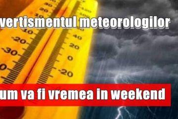 Prognoza meteo. Cum e vremea in weekendul 29 noiembrie - 1 decembrie 2019