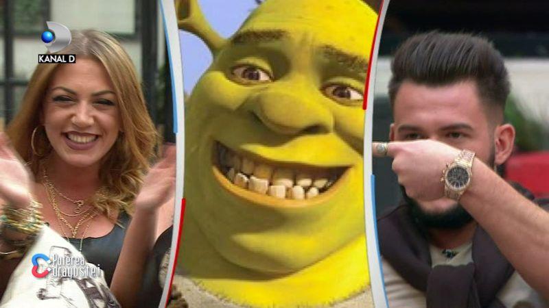 Andreea, Ricardo și Shrek