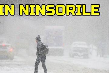 Val de aer polar peste Romania: vin ninsorile! Meteorologii au facut anuntul: cand incepe iarna