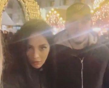 Cum au fost surprinsi Simina si Alex Zanoaga seara trecuta! Ce faceau in Bucuresti?