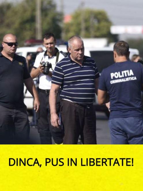 ULTIMĂ ORĂ Gheorghe Dincă, SCOS din nou din arest!