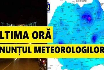 Prognoza meteo 04 - 06 decembrie. Vremea deosebit de rece pune stapanire pe Romania. Anuntul meteorologilor