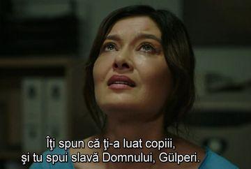 """Necazurile in familia lui Gulperi se tin lant! Afla ce sacrificii va trebui sa faca femeia pentru a-si recupera copiii, ASTAZI, intr-un nou episod din serialul """"Gulperi"""", de la ora 20:00, la Kanal D!"""