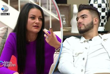 """Manuela și Iancu s-au jignit la """"Puterea dragostei""""! Uite ce și-au putut spune unul altuia! VIDEO"""