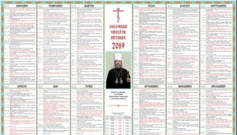 calendar ortodox decembrie 2019