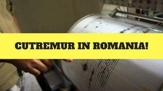 Cutremur puternic în miezul nopții în România! Ce magnitudine a avut
