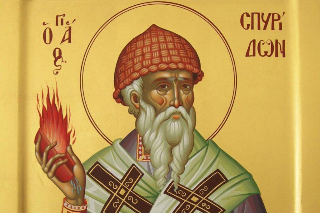 Calendar ortodox 12 decembrie. Rugăciune către Sfântul Ierarh Spiridon, făcătorul de minunii