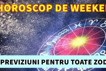 Horoscop weekend 21 - 22 decembrie 2019. Zodia Leu are parte de mari provocari, Gemenii sunt impasibili la agitatia familiei