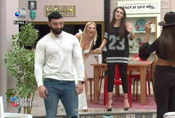 """Turcu s-a întors la """"Puterea dragostei""""! Reacția iubitei sale, Roxana"""