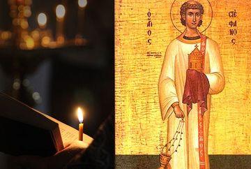 Rugaciunea catre Sfantul Stefan, care te ajuta sa depasesti cele mai grele incercari ale vietii! Se spune pe 27 decembrie!
