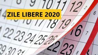 Zile libere in 2020. De cate zile libere se bucura romanii in noul an