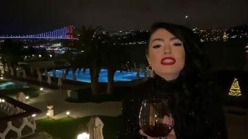 Andreea Mantea a intampinat Noul An cu iubitul ei! Iata cum au fost surprinsi impreuna, la Istanbul!