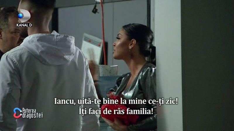 Andreea Mantea îl ceartă pe Iancu