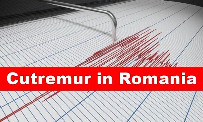 Cutremur puternic în România! Este cel mai mare din acest an!