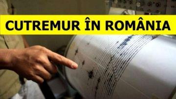Cutremur! Romania a fost lovita de 3 seisme noaptea trecuta. S-a anuntat ce magnitudine au avut