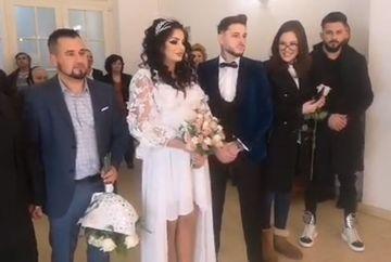 """Nuntă mare la """"Puterea dragostei""""! Simina și Alex Zănoagă s-au căsătorit! Imagini de la ceremonie"""