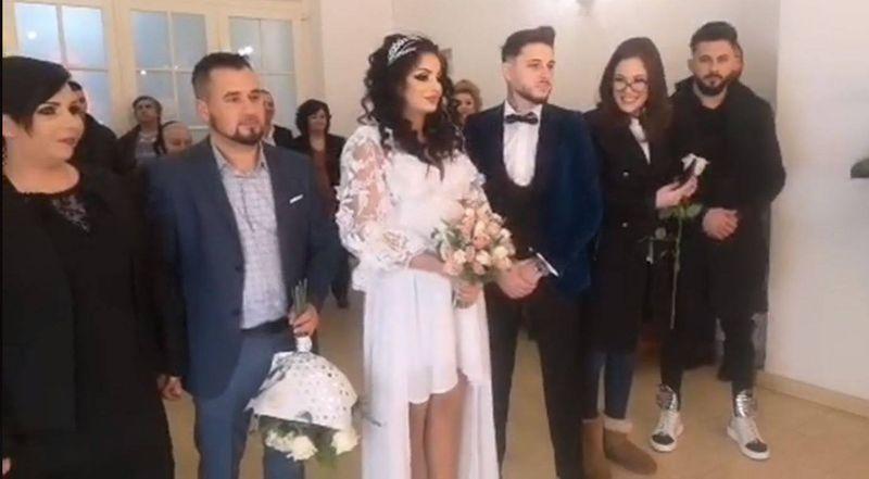 Simina si Alex Zanoaga au devenit oficial, astazi, sot si sotie.