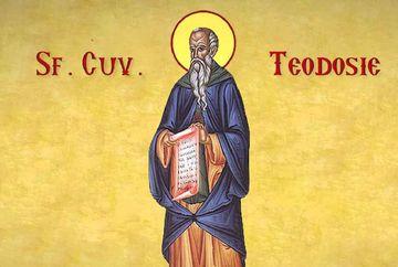 Calendar ortodox 11 ianuarie 2020. Rugaciunea catre Sfantul Teodosie cel Mare. Este cruce cu negru pentru credinciosi