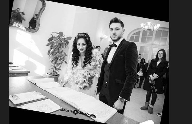 Imagini INEDITE de la nunta Siminei cu Zanoaga! Uite momentul in care au devenit SOT si SOTIE
