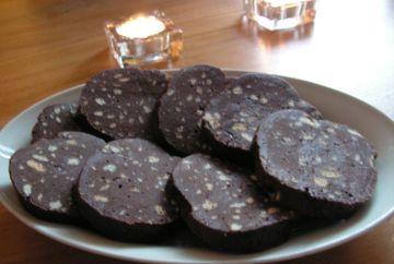 Salam de biscuiti - reteta rapida si usoara