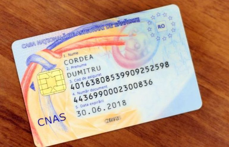 Card de sanatate asigurare CNAS