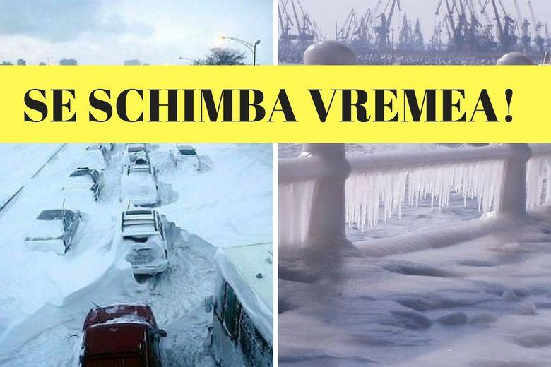 Prognoza meteo in weekendul 17 - 19 ianuarie. Vremea sufera schimbari majore, anunta meteorologii