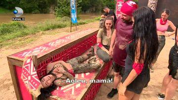 Imaginile durerii! Ruby a CEDAT! Ce a patit dupa prima cursa la ''Survivor Romania''