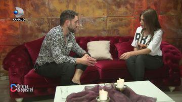 Andreea Oprică și Mircea, în camera roșie! Discuție bombă: au recunoscut că se plac reciproc!