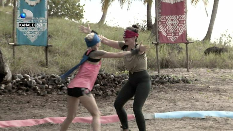 Scandal mare intre Cristina Siscanu si Lola! Cum au fost SANCTIONATE cele doua concurente de la ''Survivor Romania''