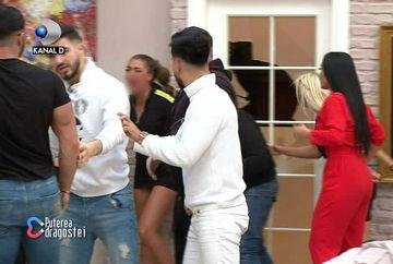 """Roxana, lovită de Manuela! I-a fost spartă buza! Imagini uluitoare la """"Puterea dragostei"""""""
