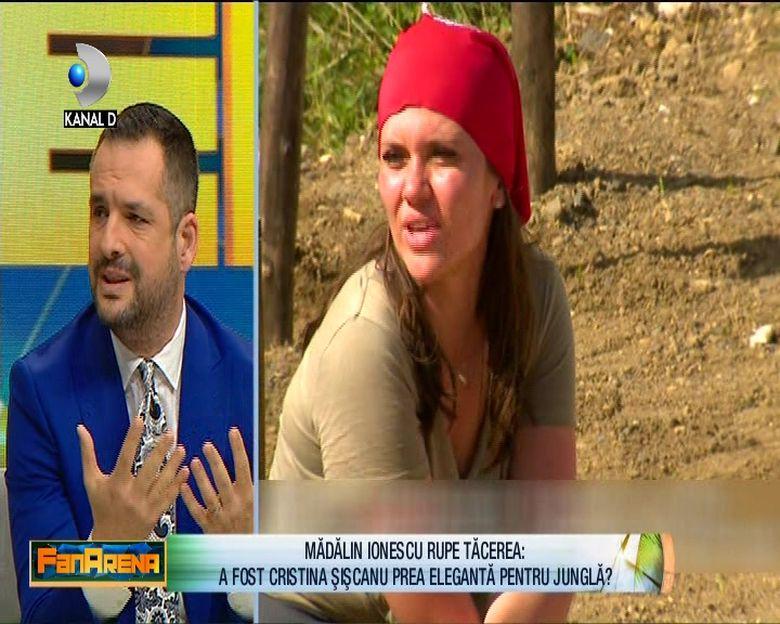 Primele declaratii ale lui Madalin Ionescu dupa intoarcerea Cristinei Siscanu de la ''Survivor Romania'': ''Cristina este o femeie..''