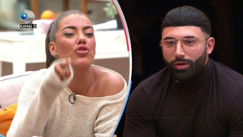 Turcu si Roxana, final de relatie cu scandal la Puterea dragostei