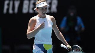 Simona Halep s-a calificat în semifinalele Australian Open! Românca a distrus-o pe Kontaveit!