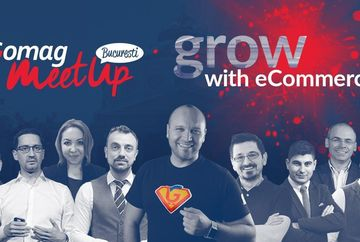 Gomag MeetUp Bucuresti 2020 - Inscrie-te gratuit!