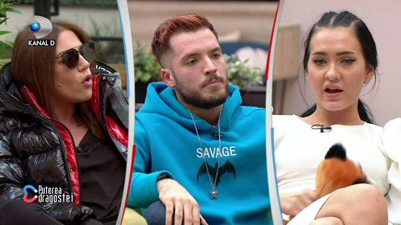 """Livian s-a întors în emisiune! El și Bianca au avut din nou un scandal cu Andreea Oprică: """"Ești o mahalagioaică și..."""""""
