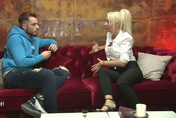 Livian și Andreea Pirui, împreună în camera roșie! Ce au vorbit cei doi