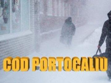 Prognoza meteo. Vremea se dezlantuie in toata tara: este cod portocaliu de viscol, la Bucuresti va ninge din nou