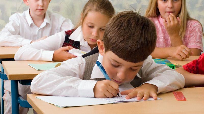 copii la clasa