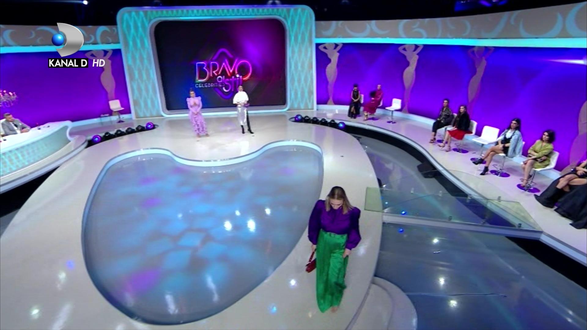 ''Eu NU voi mai veni!'' Decizie drastica a unei concurente! Ginei Chirila i se face rau in timpul emisiunii! Ce se intampla intr-un nou episod ''Bravo, ai stil Celebrities'', ASTAZI, de la 22:00, pe Kanal D