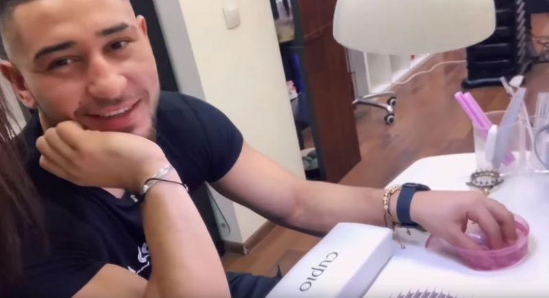 Bogdan Mocanu prins la unghii